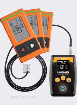 Vibration Meter with Time Monitors